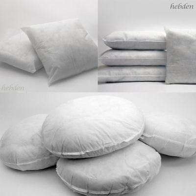 Hollowfibre Cushion Pads Inners Inserts Filler Filled Pillows Sofa All Sizes  • 5.99£