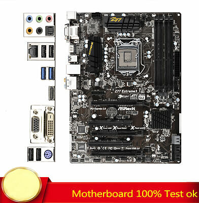 AU159.94 • Buy For ASRock Z77 Extreme3 LGA 1155 Intel Z77 ATX Intel 6Gb/s USB 3.0 Motherboard