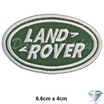 Land Rover Range Rover Embroidered Logo Badge Iron Sew On PATCH CAR SPORTS • 2.29£