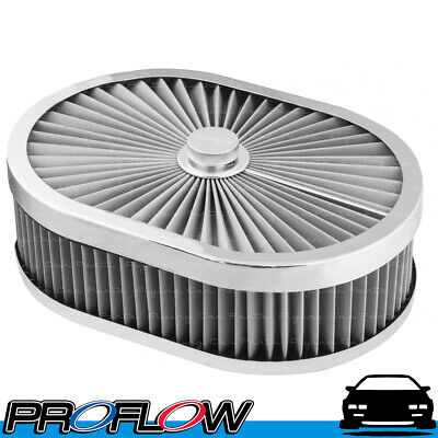 AU115.31 • Buy PROFLOW Flow Top Air Filter Cleaner 12 X9 X3  Washable Reusable Flat Base S/S