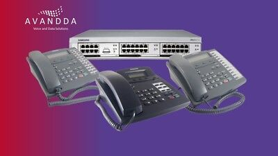 £1140 • Buy Samsung Officeserv Telephone System For 8 Users With Handsets