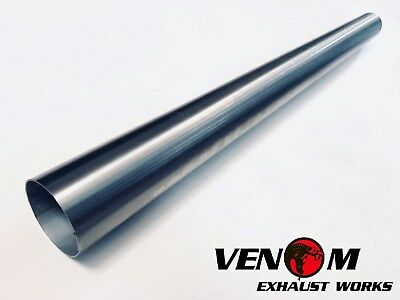 AU44.95 • Buy 2.5  INCH (63.5mm) X 1M 304 Stainless Steel Universal Exhaust Intake Pipe Tube