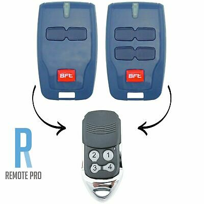 AU12.85 • Buy To Suit BFT Mitto Compatible Garage/Gate Remote Type B RCB TX2/TX4/0678 4 Button