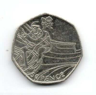 £3.99 • Buy 2011 Olympic & Paralympic  Cycling  Fifty Pence Coin
