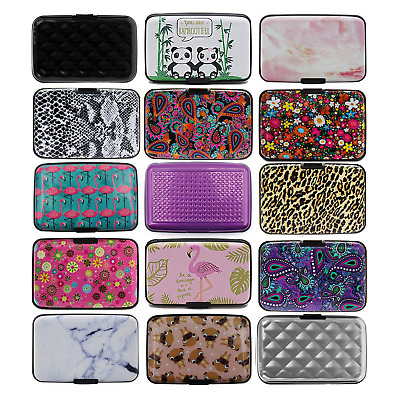 Business Credit Card Wallet ID Holder Strong Case Waterproof Pocket Box Purse  • 2.69£