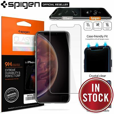 AU15.99 • Buy For IPhone 11 Pro XS Max XR X 8 7 Plus SE Screen Protector SPIGEN Tempered Glass