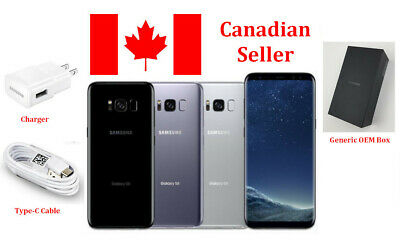 $ CDN273.99 • Buy Samsung Galaxy S8 64GB Multiple Colors Unlocked G950W G950U G950U1 Smartphone
