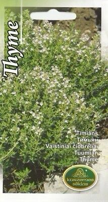£1.69 • Buy Herb Seeds Thyme Herbal For Kitchen Pot Garden Pictorial Packet UK