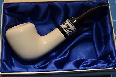 AU268.44 • Buy SCHUBERT Rare Model MEERSCHAUM Pipe By STRAMBACH Austria (bauer) NEW 9mm Filter☦