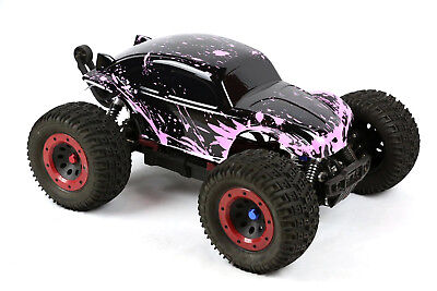 Custom Buggy Body Muddy Pink For 1/8 RC Truck Thunder Tiger MT4 G3 HPI Savage • 21.44£