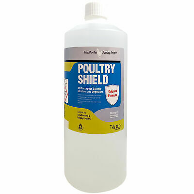 £18.50 • Buy Poultry Shield Concentrate Red Mite & Disinfectant 1lt