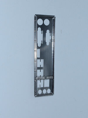 AU6.91 • Buy OEM I/O Shield For ASUS PRIME B350M-E & PRIME B350M-A Motherboard Backplate IO