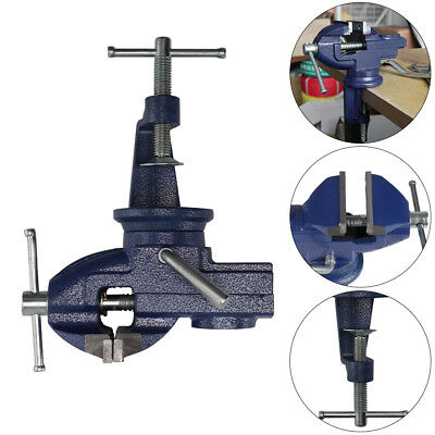 Engineers Vice Vise Swivel Base Workshop Clamp Jaw Work Bench Table Vices • 9.29£