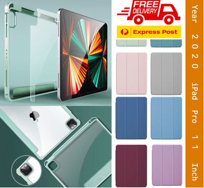 AU25.99 • Buy 2 In1 SET Case+Glass Screen Protector IPad Pro 12.9 Inch Pro 11 Inch Smart Cover