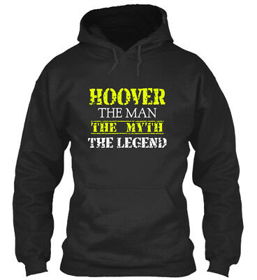 Hoover The Man - Myth Legend Standard College Hoodie • 29.99£