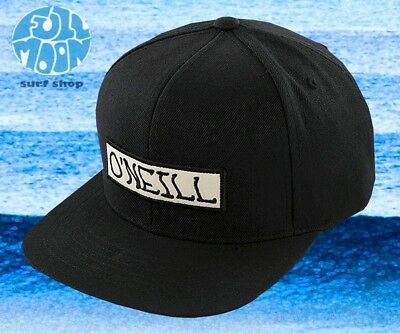 $24.95 • Buy New O´Neill Roadie Classic Black 1952 Mens ONeill Snapback Cap Hat