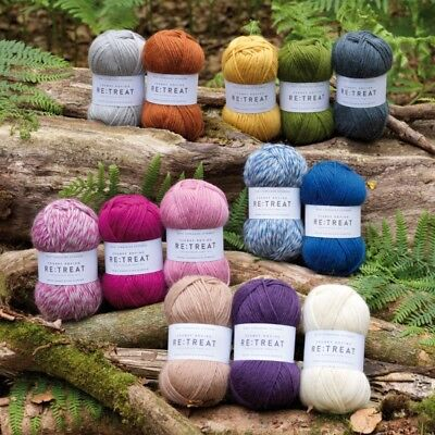 West Yorkshire Spinners  Re:Treat  100% British Wool - 100g Chunky Roving Wool • 7.79£