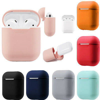 $ CDN1.56 • Buy For Apple AirPods Case Protect Silicone Cover Skin AirPod Earphone Charger Cases