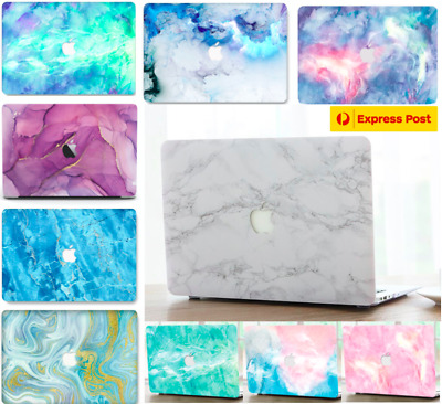 AU25.99 • Buy Marbled MacBook Air 13 Inch Hard Case + Keyboard Cover + Screen Protector Marble