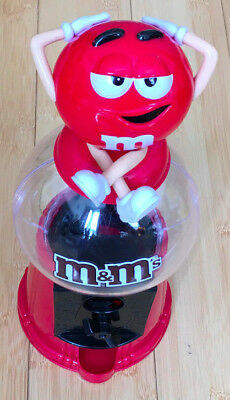 M&M's Chocolate Candy Dispenser 12  - Red • 10£