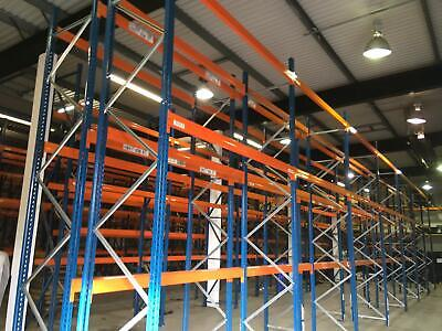POLYPAL INDUSTRIAL COMMERCIAL WAREHOUSE PALLET RACKING BAY (Chelmsford Branch)  • 60£
