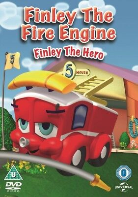 NEW Finley The Fire Engine - Finley The Hero DVD • 1.05£