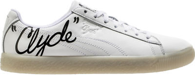 Puma Men's CLYDE SIGNATURE ICE Shoes Puma White/Puma Black 365803-01 B • 43.19£