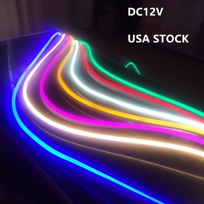 $126.95 • Buy 30' LED Neon Rope Light DC12V Soft Strip Christmas Party Room Tent Decor Outdoor