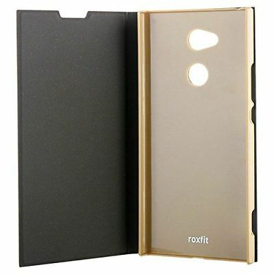 $ CDN8.80 • Buy New Roxfit Official Sony Xperia Xa2 Ultra Book Case Stand Function - Black Gold