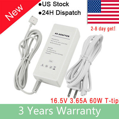 $13.99 • Buy 60W Laptop Power Charger Cord For Apple MAC MacBook A1185 A1278 A1181 A1184 FA