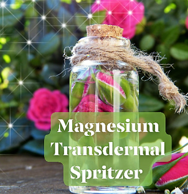 MAGNESIUM Transdermal Body Oil Mist | Ancient Minerals Zechstein By RAW PASSION • 22£
