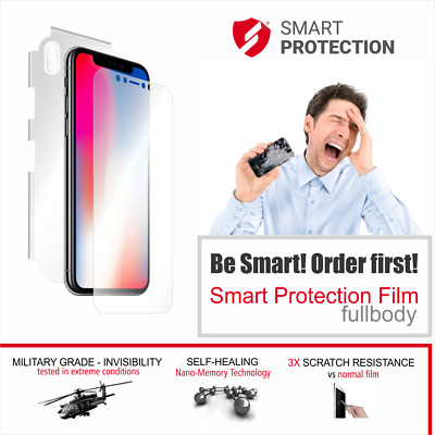 AU18 • Buy For IPhone X Xs Case Invisible Cover Skin Screen Protector Apple SHIELD GUARD