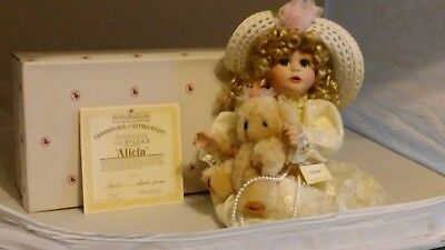 $ CDN47.37 • Buy Ashton-Drake Porcelain Dolls - Alicia Doll Of The Victorian Lace Collection