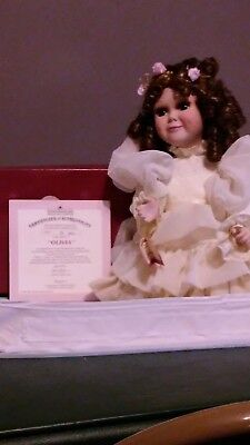 $ CDN74.43 • Buy Ashton-Drake Porcelain Dolls - Olivia Doll Of The Victorian Lace Collection