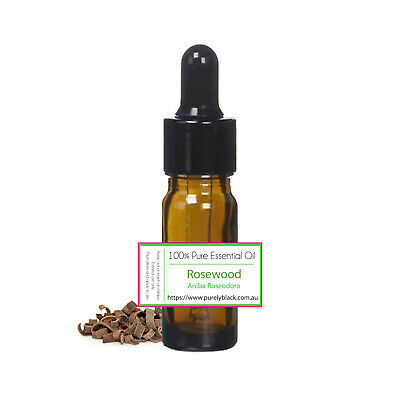 AU12.95 • Buy 100% Pure Rosewood Essential Oil For Skin Care Diffuser  Aroma Aromatherapy