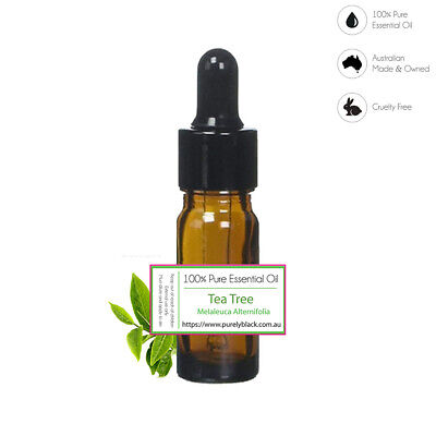 AU8.45 • Buy 100% Pure Tea Tree Essential Oil For Skin Care Diffuser  Aroma Aromatherapy