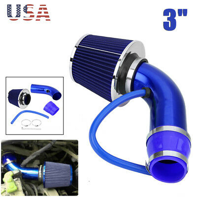 $31.87 • Buy 3  Auto Cold Air Intake Filter Alumimum Induction Kit Pipe Hose System Universal