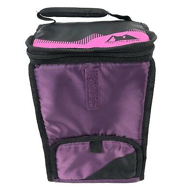 $ CDN12.94 • Buy Arctic Zone Insulated Double Decker Hook & Loop  Lunch Bag Purple