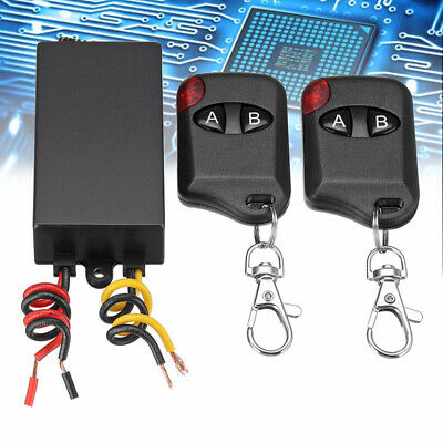 £3.99 • Buy DC 12V 315MHZ ON-OFF Wireless Remote Control Switch Relay With Receiver