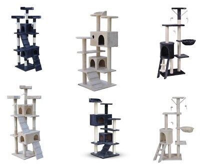 AU99.99 • Buy Multi Level Cat Tree Scratching Post Scratcher Pole Gym Toy House Furniture