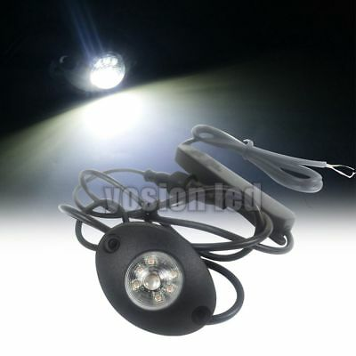 $24.29 • Buy 6 W White LED Hide Away Emergency Flash Vehicle Hazard Warning Strobe Lights