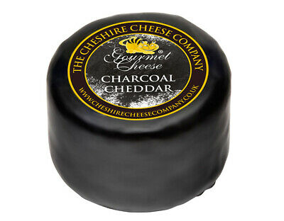 £8.95 • Buy Charcoal Cheese - 200g Waxed Truckle