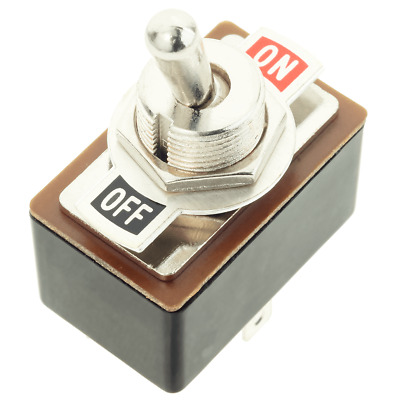 £2.53 • Buy DPDT Toggle Switch With On/Off Label Plate