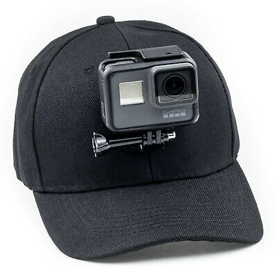AU34.95 • Buy Baseball Hat Mount For GoPro HERO 10 9 8 7 6 5 4 3 2 1 MAX Fusion360 Session