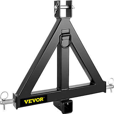 AU131.99 • Buy 3 Point 2 Receiver Trailer 44lbs Tow Hitch Category 1 Attachment Tractor