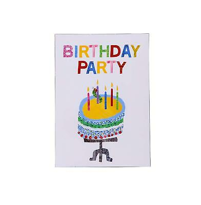 Very Hungry Caterpillar  Childrens Birthday Party Invites  X 10  With Envelopes • 3.40£