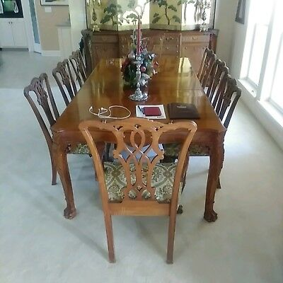$8720 • Buy Chippendale Mahogany Dining Room Set