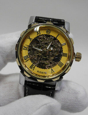 $ CDN18 • Buy Skeleton Style Automatic Soft Sweep Analogue Fashion Watch Never Worn
