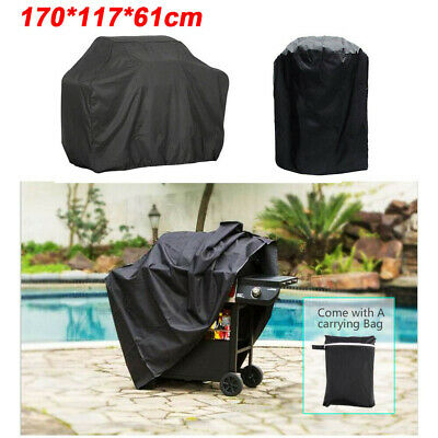 £8.99 • Buy 170CM BBQ Covers Heavy Duty Waterproof Barbecue Smoker Grill Protectors