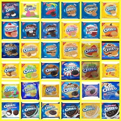 NABISCO OREO Creme Filled Golden Chocolate Sandwich Cookies LIMITED EDITION • 14.44£